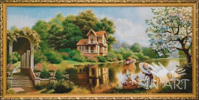 Гобеленовая картина Первая любовь