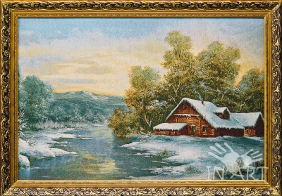 Картина Зима R-080 - фото