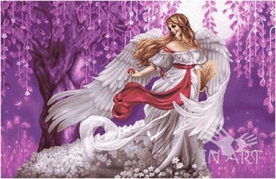 Гобеленовая картина Девушка Ангел GB 113 - фото