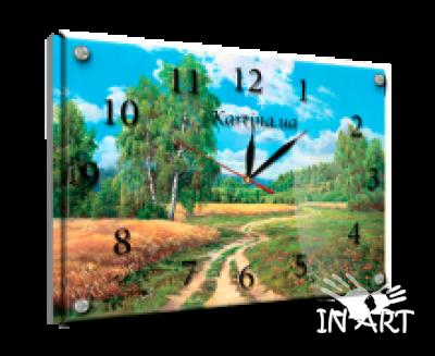 Часы под стеклом Природа K 177 - фото