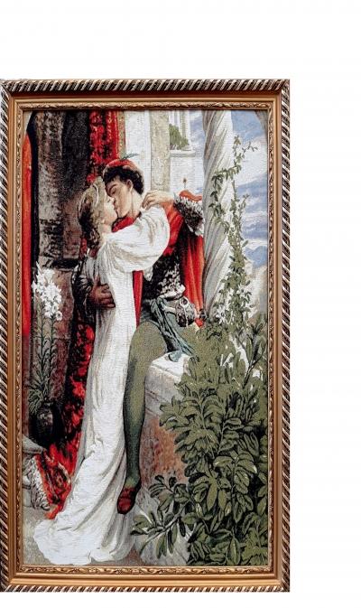 Гобеленовая картина Влюбленные - фото