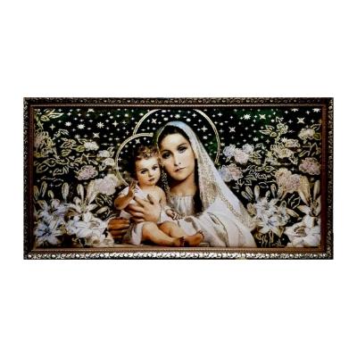Картина гобелен Дева Мария с младенцем GB 126