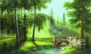 Картина Солнечные лучи A 68