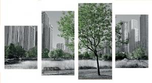 Модульная картина Дерево М4 - F 271