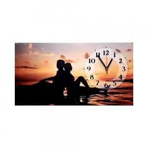 Часы холст Пара L-214