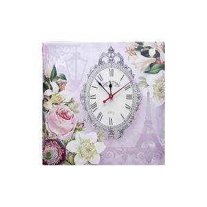 Часы холст Париж D-6