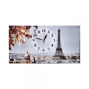 Часы холст Париж G-1312