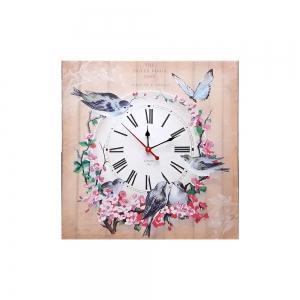 Часы холст Прованс D-3