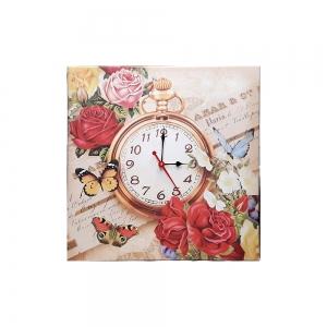 Часы холст Прованс D-5