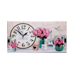 Часы холст Прованс М-4