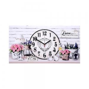 Часы холст Прованс М-6