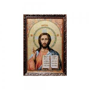 Картина Икона Иисус Христос 30 х 40 3 см N-12 - фото